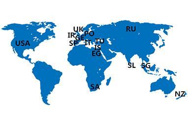 Продукты Godson Technology были экспортированы во многие страны