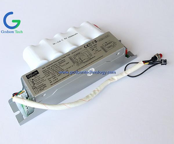 Аварийный блок питания Ni-Cd C2500mAh 6V