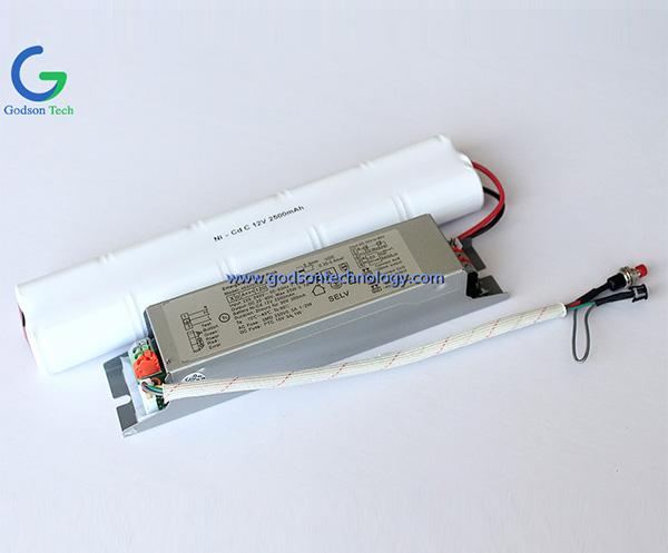 Аварийный блок питания Ni-Cd C2500mAh 12V