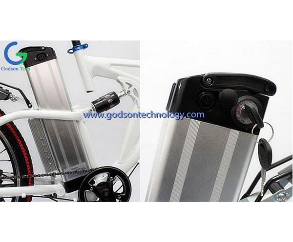 E-bike аккумулятор 36V 10Ah Silver Fish