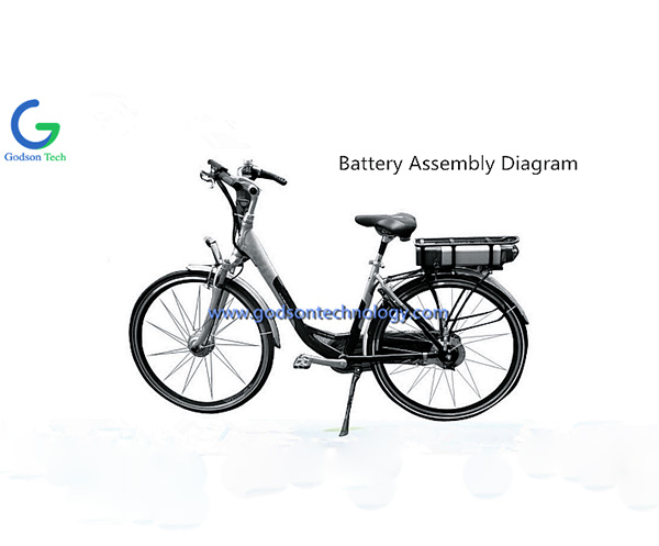 E-bike аккумулятор 36V 8Ah JL-1