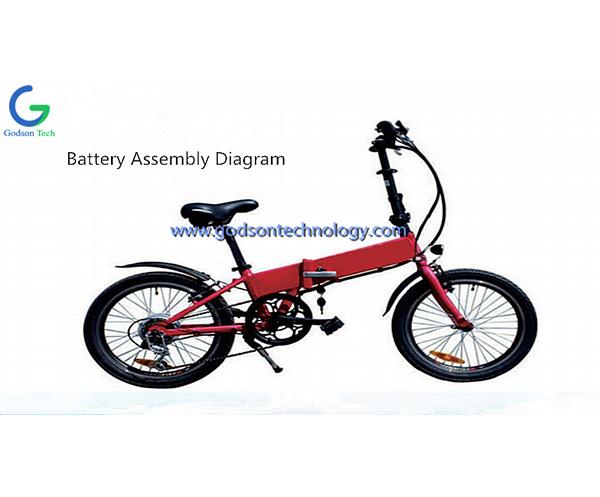 E-bike аккумулятор 36V 10Ah NeizhiBattery
