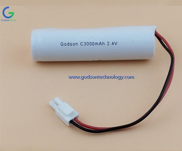 Аккумулятор Ni-Cd C3000mAh 2.4V
