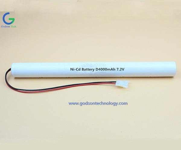Aккумуляторная Ni-Cd D4000mAh 7.2V