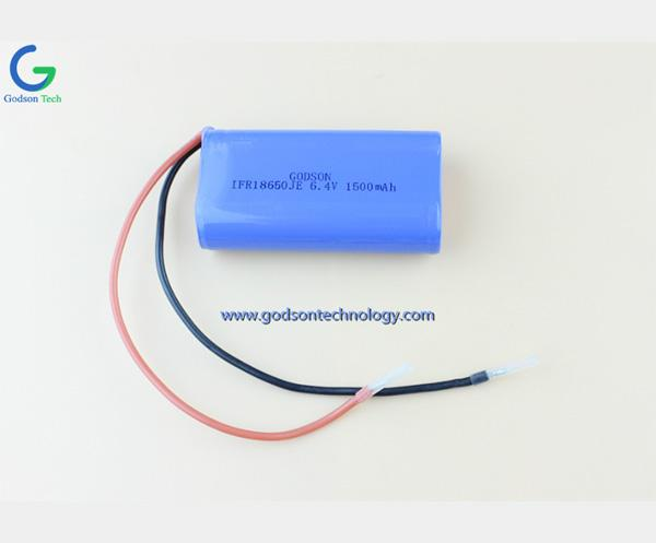 Аккумулятор LiFePO4 IFR18650 1500mAh 6.4V