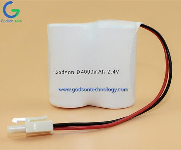 Aккумуляторная Ni-Cd D4000mAh 2.4V