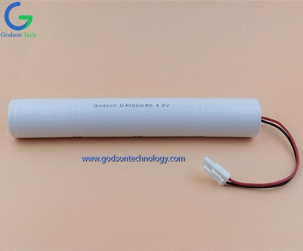 Aккумуляторная Ni-Cd D4000mAh 4.8V