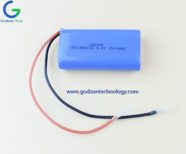 LiFePO4 Аккумулятор IFR18650 1500mAh 6.4V