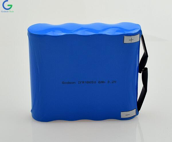 Аккумулятор LiFePo4 IFR18650 6000mAh 3.2V