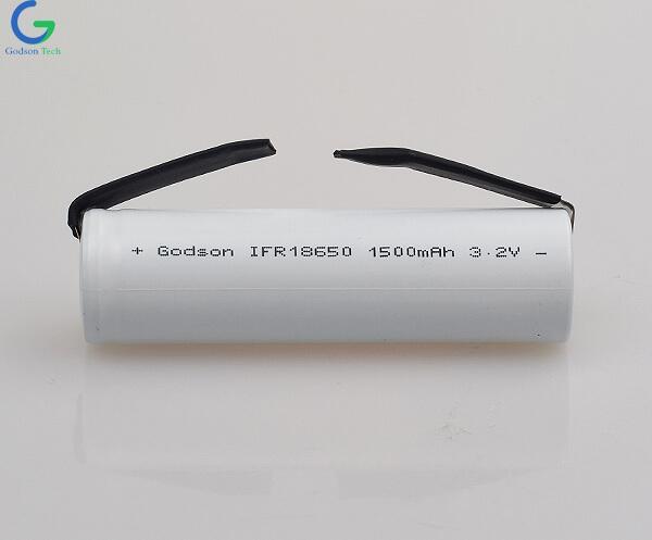 Аккумулятор LiFePo4 IFR18650 1500mAh 3.2V