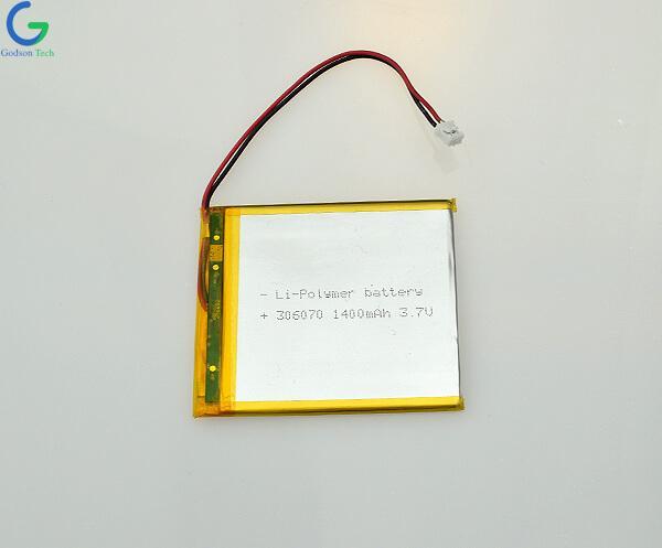 литий-полимерный аккумулятор 306070 1400mAh 3.7V
