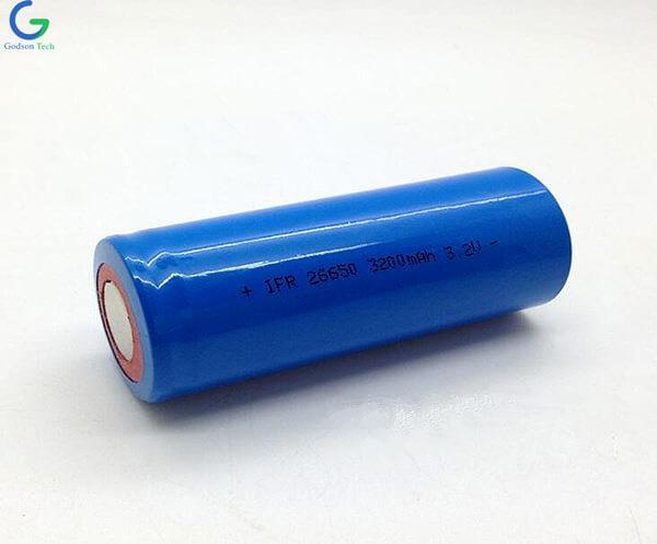 Аккумулятор LiFePO4 IFR26650 3200mAh 3.2V