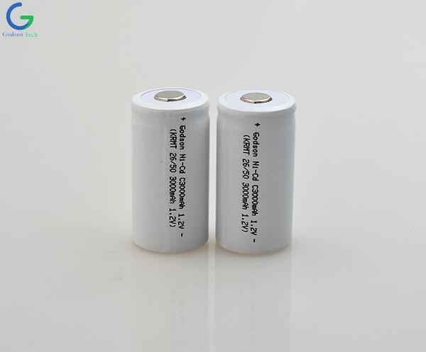 Аккумулятор Ni-Cd C3000mAh 1.2V