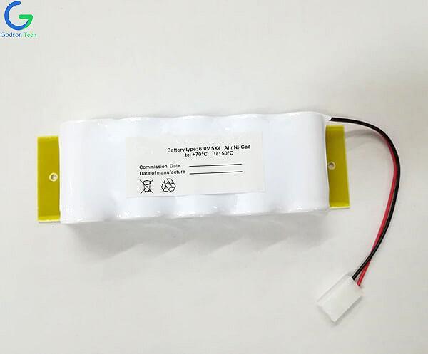 Aккумуляторная Ni-Cd D4000mAh 6V
