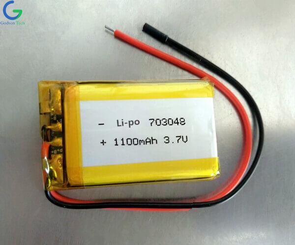 литий-полимерный аккумулятор 703048 1100mAh 3.7V