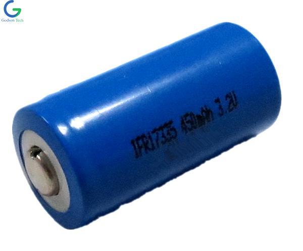 Аккумулятор LiFePO4 IFR17335 450mAh 3.2V