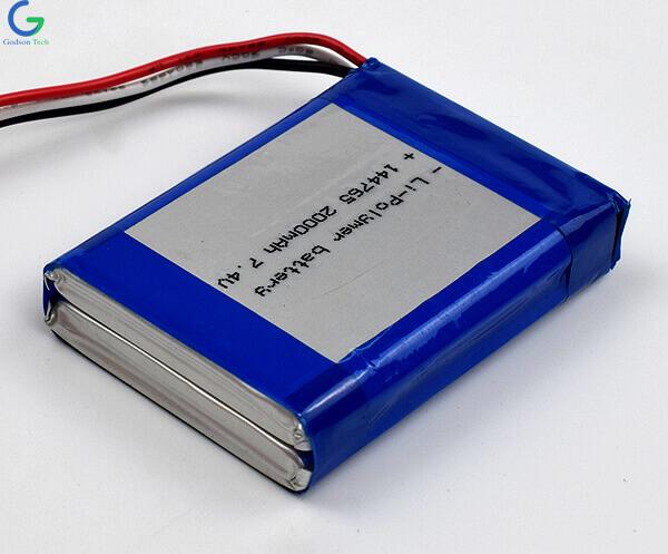 литий-полимерный аккумулятор 144765 2000mAh 7.4V