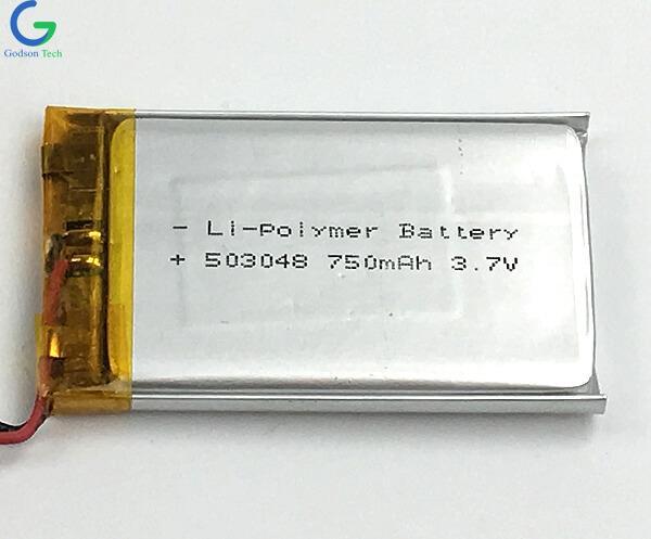 литий-полимерный аккумулятор 503048 750mAh 3.7V