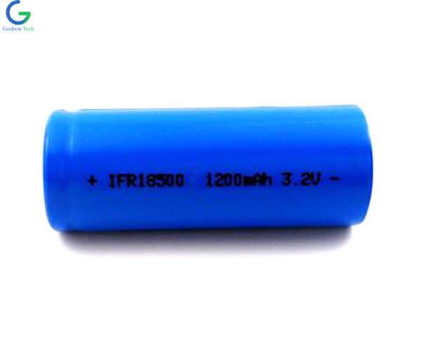 LiFePo4 Aккумулятор IFR18500 1200mAh 3.2V