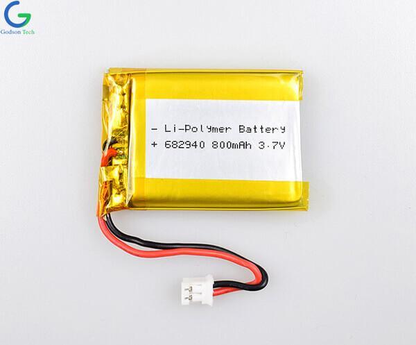 литий-полимерный аккумулятор 682940 800mAh 3.7V