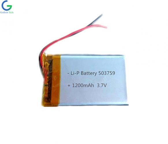 литий-полимерный аккумулятор 503759 1200mAh 3.7V