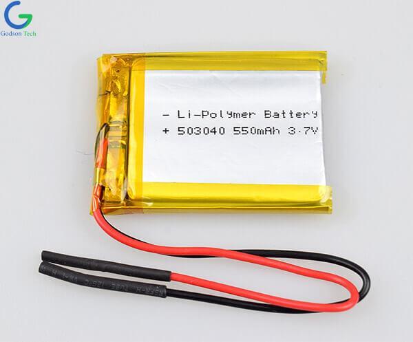 литий-полимерный аккумулятор 503040 550mAh 3.7V