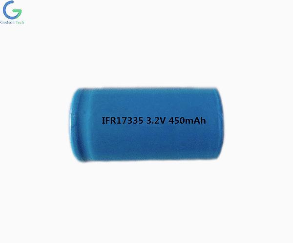 LiFePO4 Aккумулятор IFR17335 450mAh 3.2V