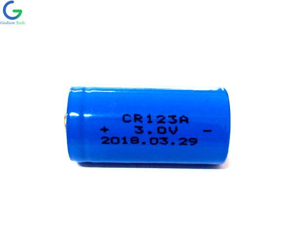 батарея LiMnO2 CR123A