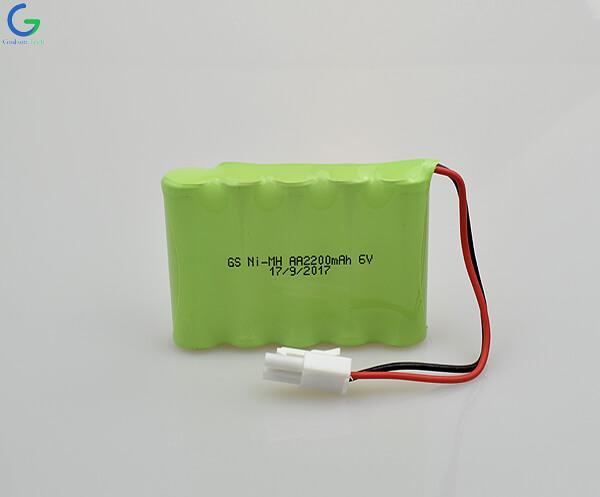 Аккумулятор Ni-MH AA 2200mAh 6V