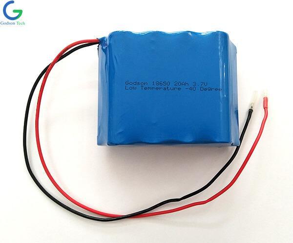 Литиевая батарея ICR18650 20Ah 3.7V