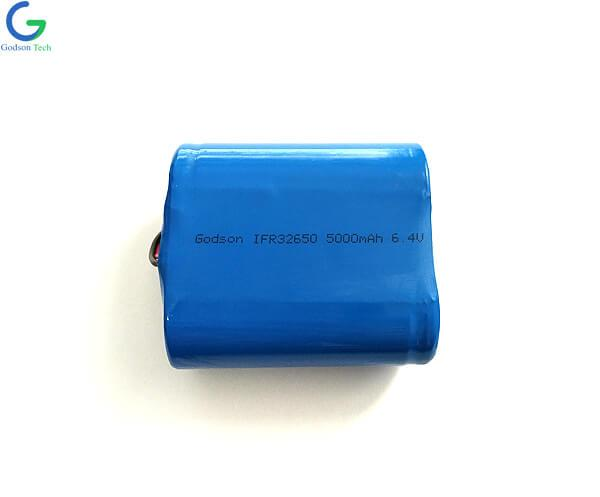 LiFePO4 Батарея IFR32650 5Ah 6,4 В