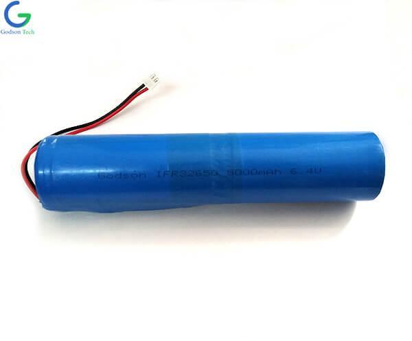 LiFePO4 Батарея IFR32650 5000mAh 6,4 В