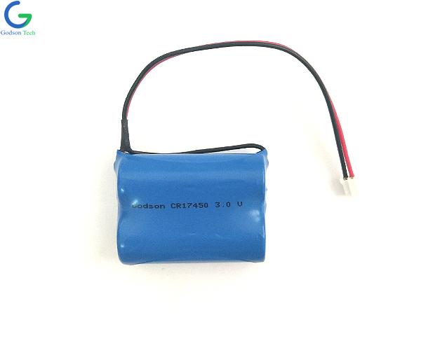 батарея LiMnO2 CR17450
