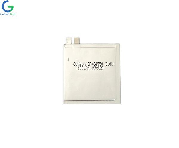 Ультратонкая батарея 064550 100mAh 3.7V