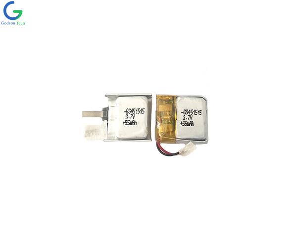 литий-полимерный аккумулятор 451515 55mAh 3.7V