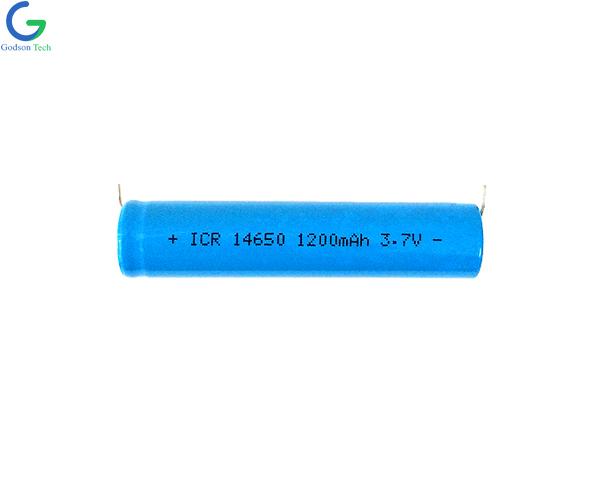 Литиевая батарея ICR14650 1050mAh 3.7V