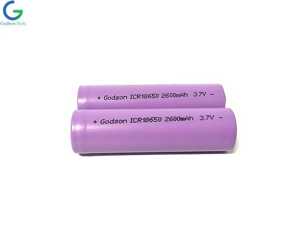 Литиевая батарея ICR18650 2600mAh 3.7V